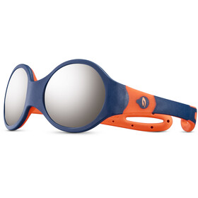 Julbo Loop M Spectron 4 Occhiali da sole Bambino, blue/orange/grey flash silver